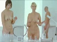 辨公室內男女裸體的護膚廣告Nothing To Hide