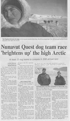 this is an article from nunavut news north april 21 2008 enjoy