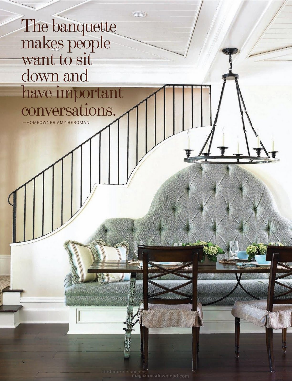 How to pick a table for a banquette joy studio design gallery best design - Kitchen banquette seating ...