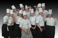 第二届-1年烘焙专业技术班毕业照