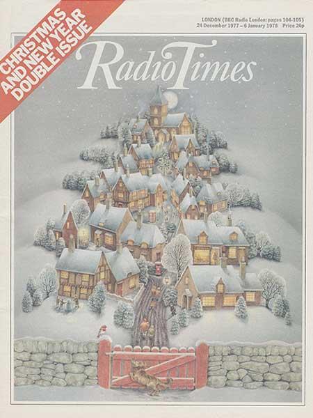 Radio Times Christmas 1980 Radio Times Christmas Covers
