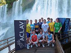 El brasileño Pinha en la presentación de la Liga