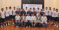 El plantel 2009/10 de Chubut Volley