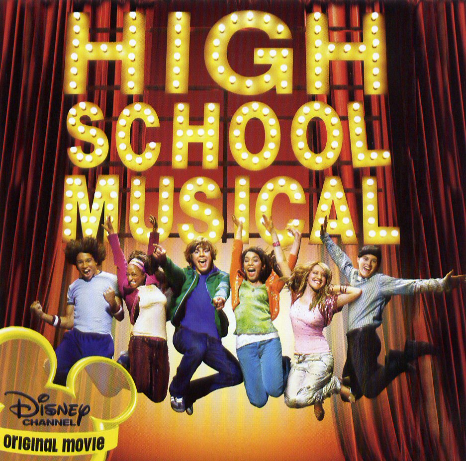 Encarte: High School Musical Soundtrack