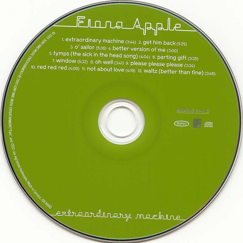 extraordinary machine fiona apple