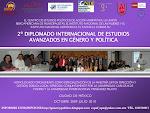 2o. Diplomado Internacional de Estudios Avanzados en Género y Política
