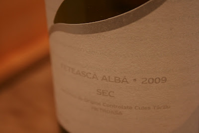 Feteasca Alba 2009, Crama Basilescu