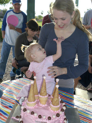 Ava's 1st Birthday - Dec 11, 2008