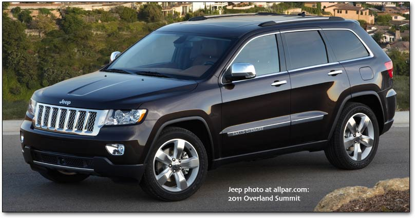 Top Cars  2011 Jeep Grand Cherokee