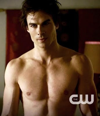 "the Sexiest Beast of All time, Damon Salvatore of ""Vampire Diaries"" is"