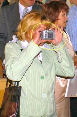 Jefa sacando foto