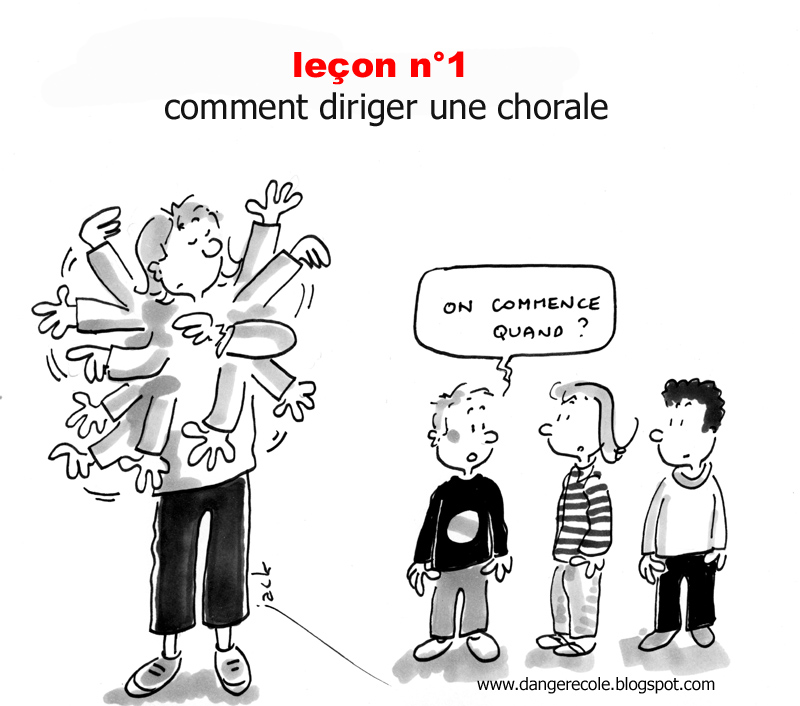 Danger cole mars 2010 - Chorale dessin ...