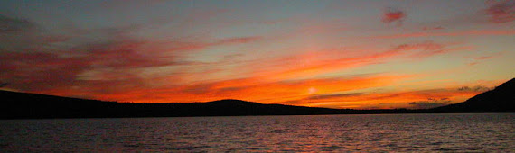 Sunset on Averill Lake