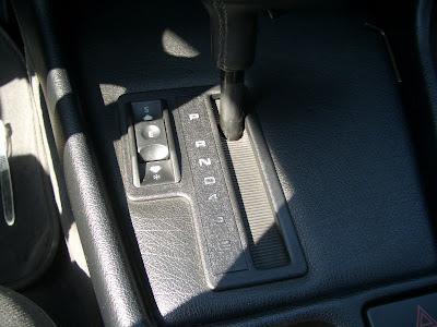 Eclairage position levier de vitesse automatique CIMG4102