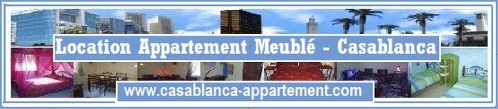 Location appartement meublé - Casablanca