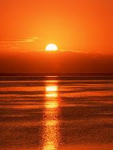 O por do sol!!!