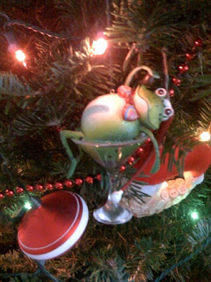 May your frogs be drunk this Christmas...