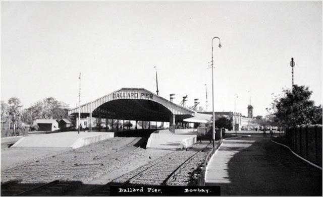 Ballard Pier - Bombay aka Mumbai