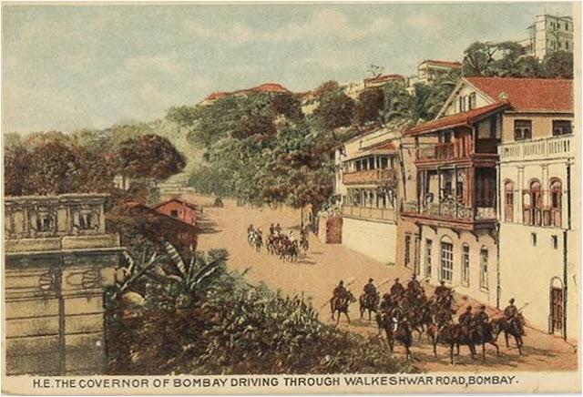 Walkeshwar Road - Bombay aka Mumbai