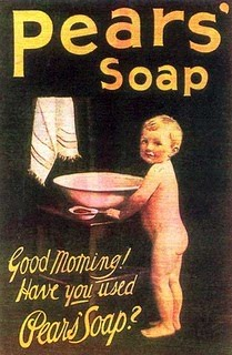"Reads, ""Good Morning! Have you used Pears' Soap."""