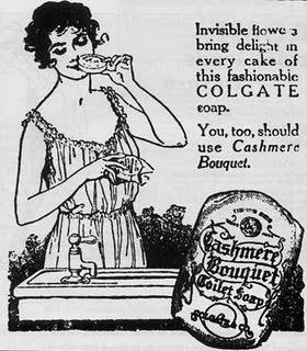 Cashmere Bouquet Toilet Soap