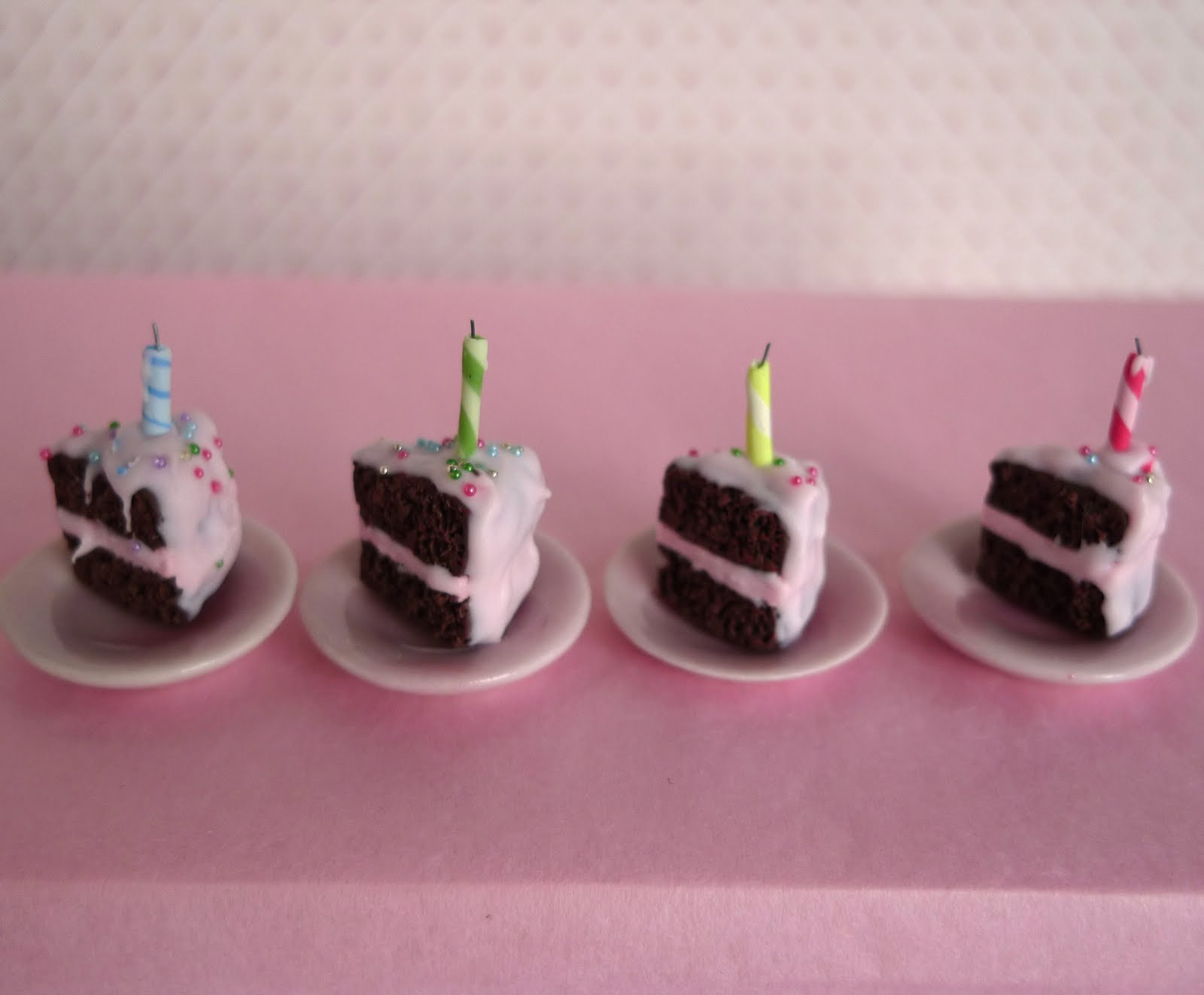 Images Of Birthday Cake Slices : Hummingbird Miniatures: May 2010