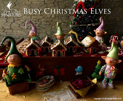 Miniature Christmas Elves