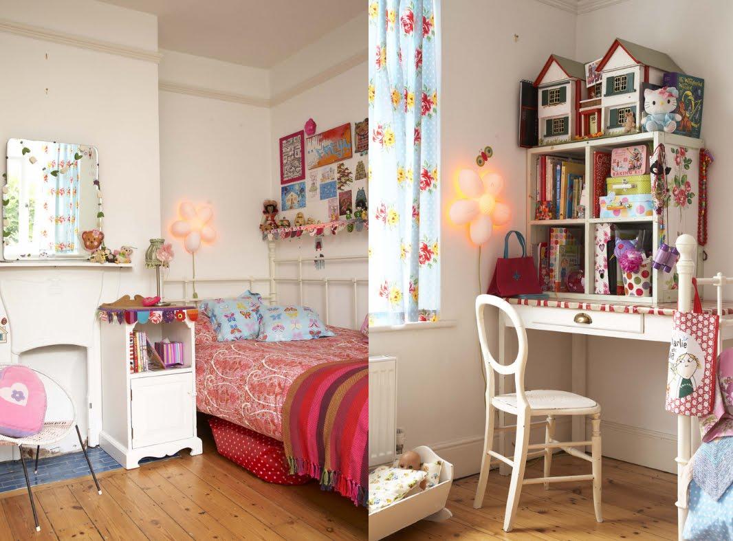 Zoomdeco dormitorios vintage para nenas - Dormitorio retro ...