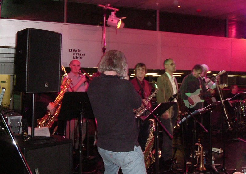 Newcastle Big Band reunion