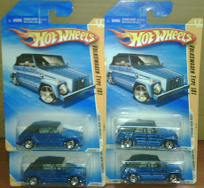 HW VW TYPE 181 blue (new models)