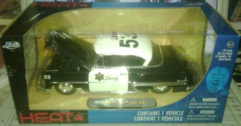 JADATOYS 1953 CHEVY BEL AIR POLICE(1:24)