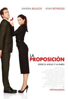 Cartel español de 'La proposición'
