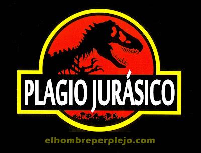 Plagio Jurásico en elhombreperplejo.com