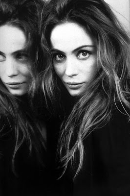  Emmanuelle Beart en la galera 'Actrices frente al espejo' de elhombreperplejo.com 