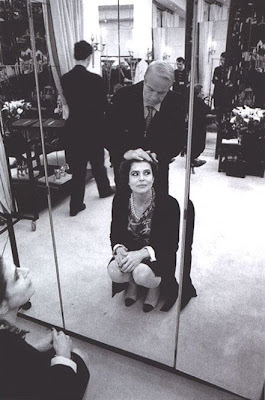  Fanny Ardant en la galera 'Actrices frente al espejo' de elhombreperplejo.com 