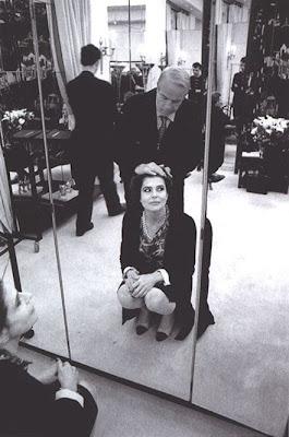 Fanny Ardant en la galería 'Actrices frente al espejo' de elhombreperplejo.com