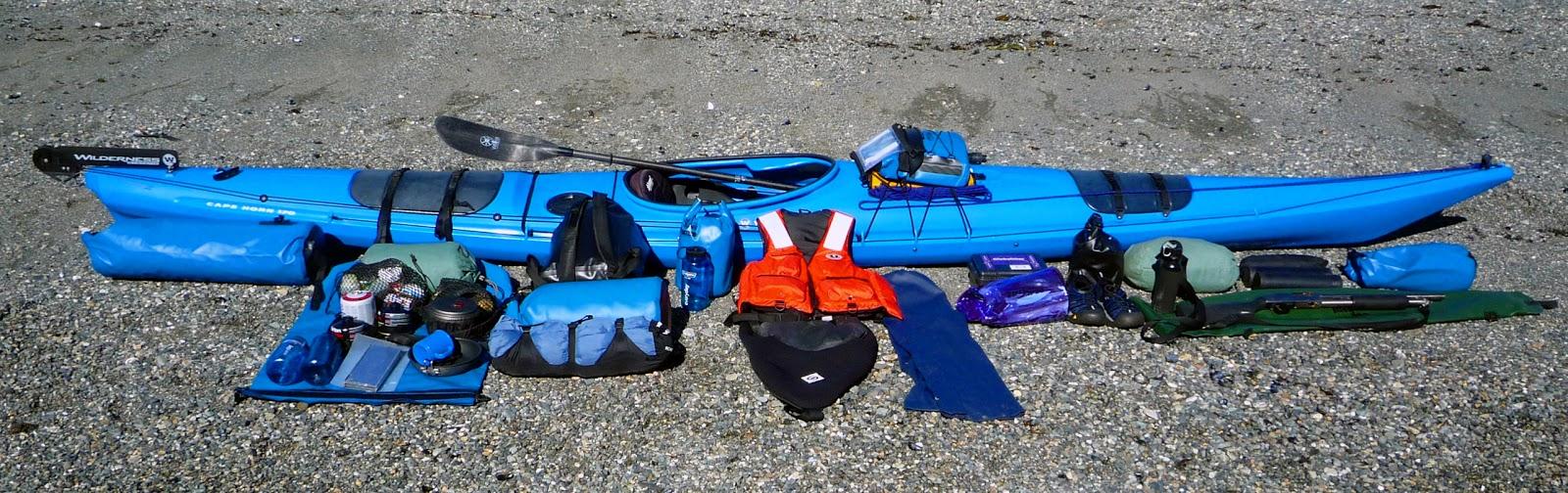 Northwest explorer kayak gear list for Kayak fishing gear list