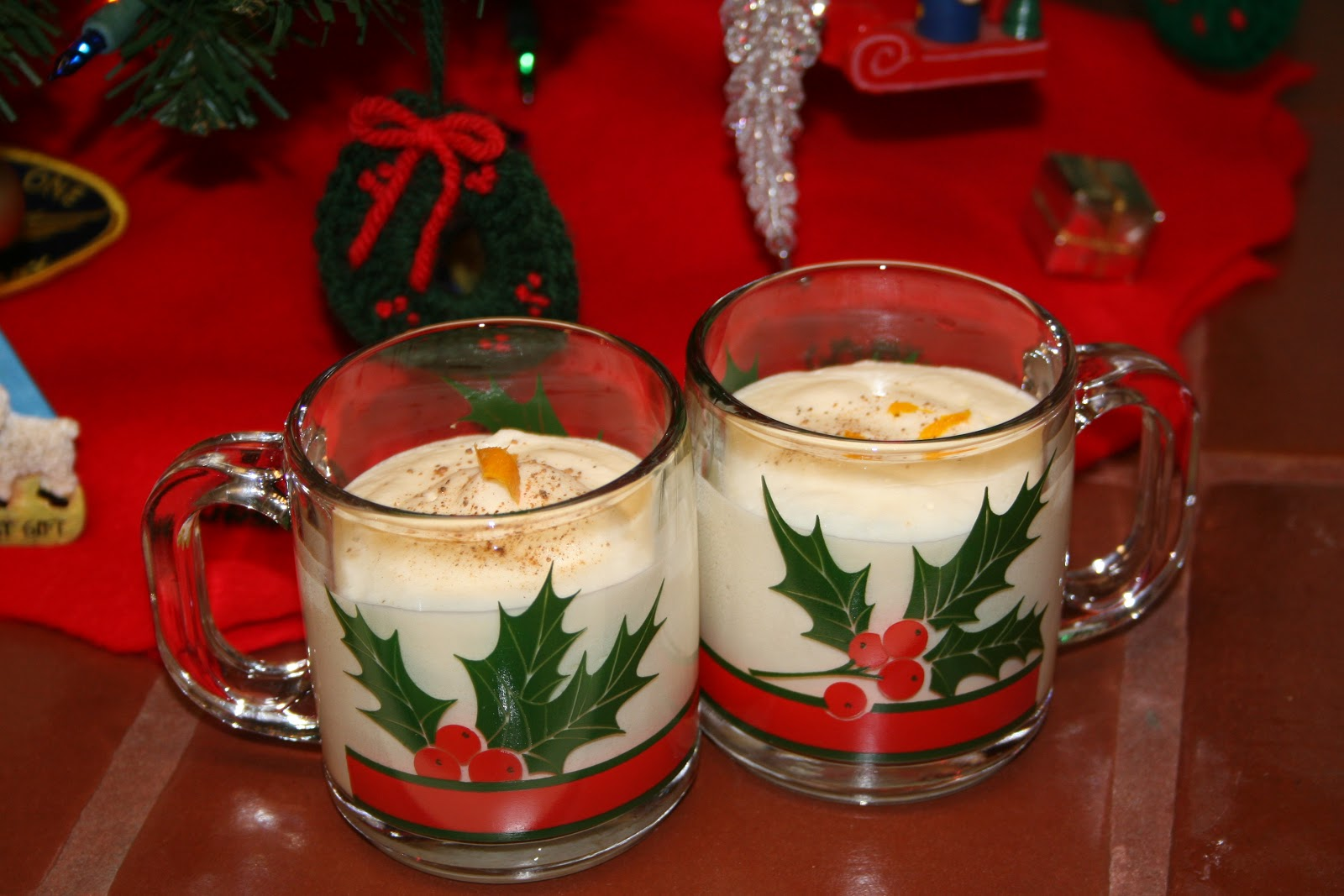 peas on moss: Christmas Eggnog