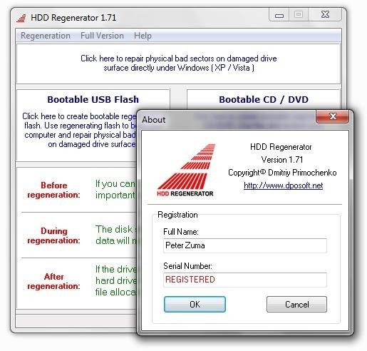 free download hdd regenerator 1.71 full version