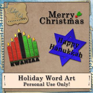 http://robynpalidesigns.blogspot.com/2009/12/freebie-fridayholiday-word-art.html