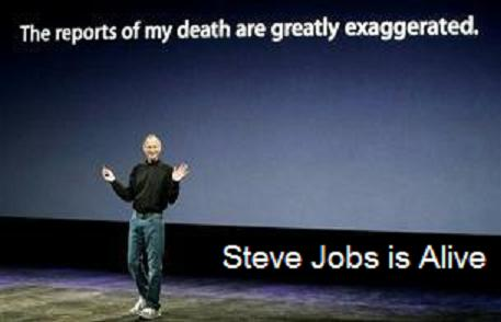 Steve Jobs is Alive