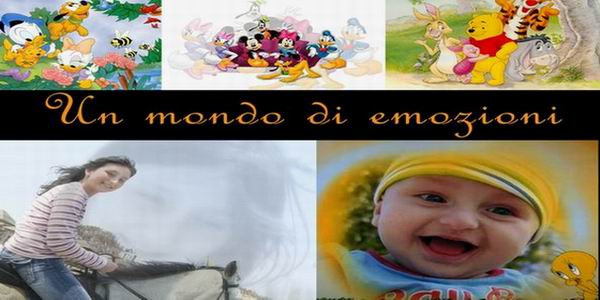 Un mondo di emozioni