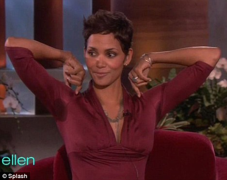 Halle Berry Excessive Sweating