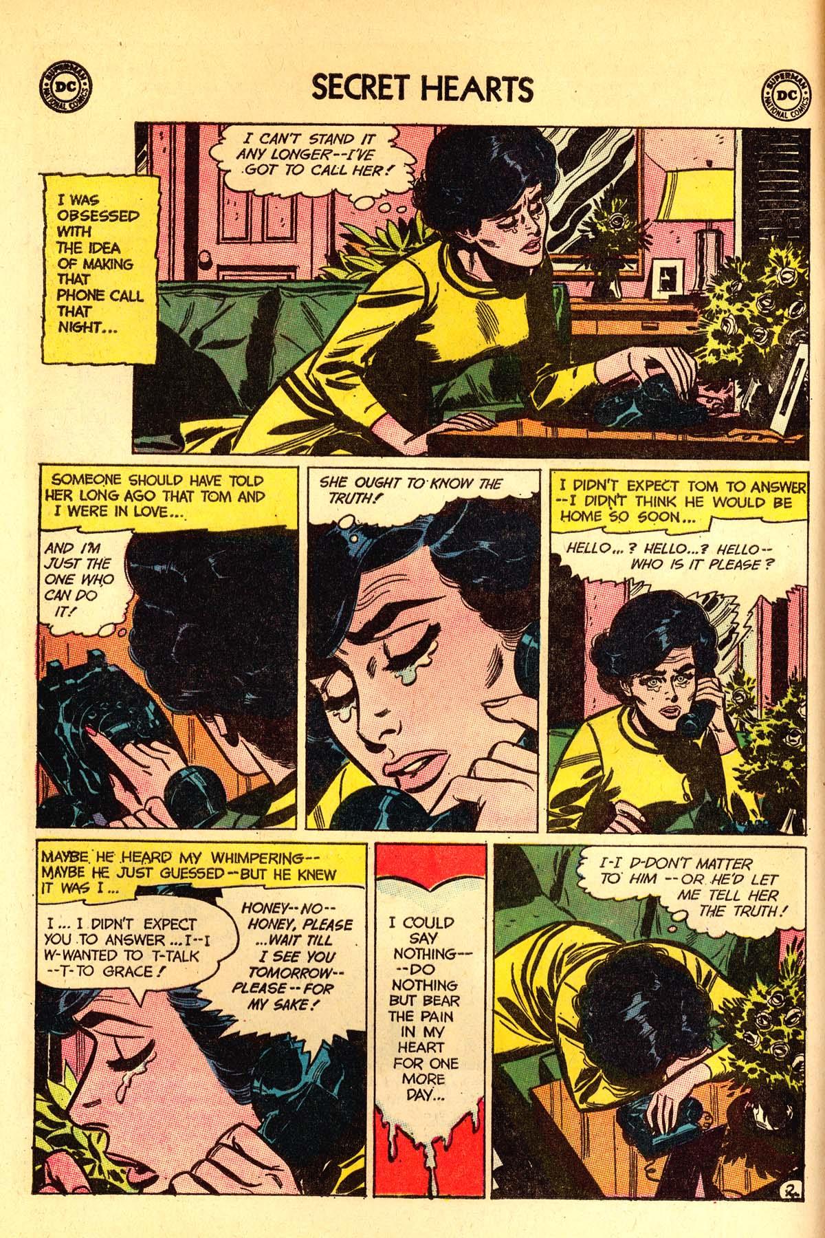Read online Secret Hearts comic -  Issue #89 - 4
