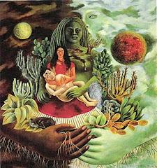 Frida Kahlo - Abrazo Amoroso