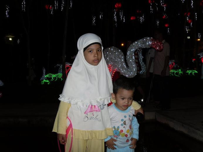 Kakak Imah dan adik Adham