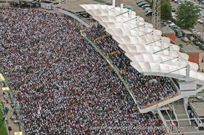 foto aerea del estadio de colo colo