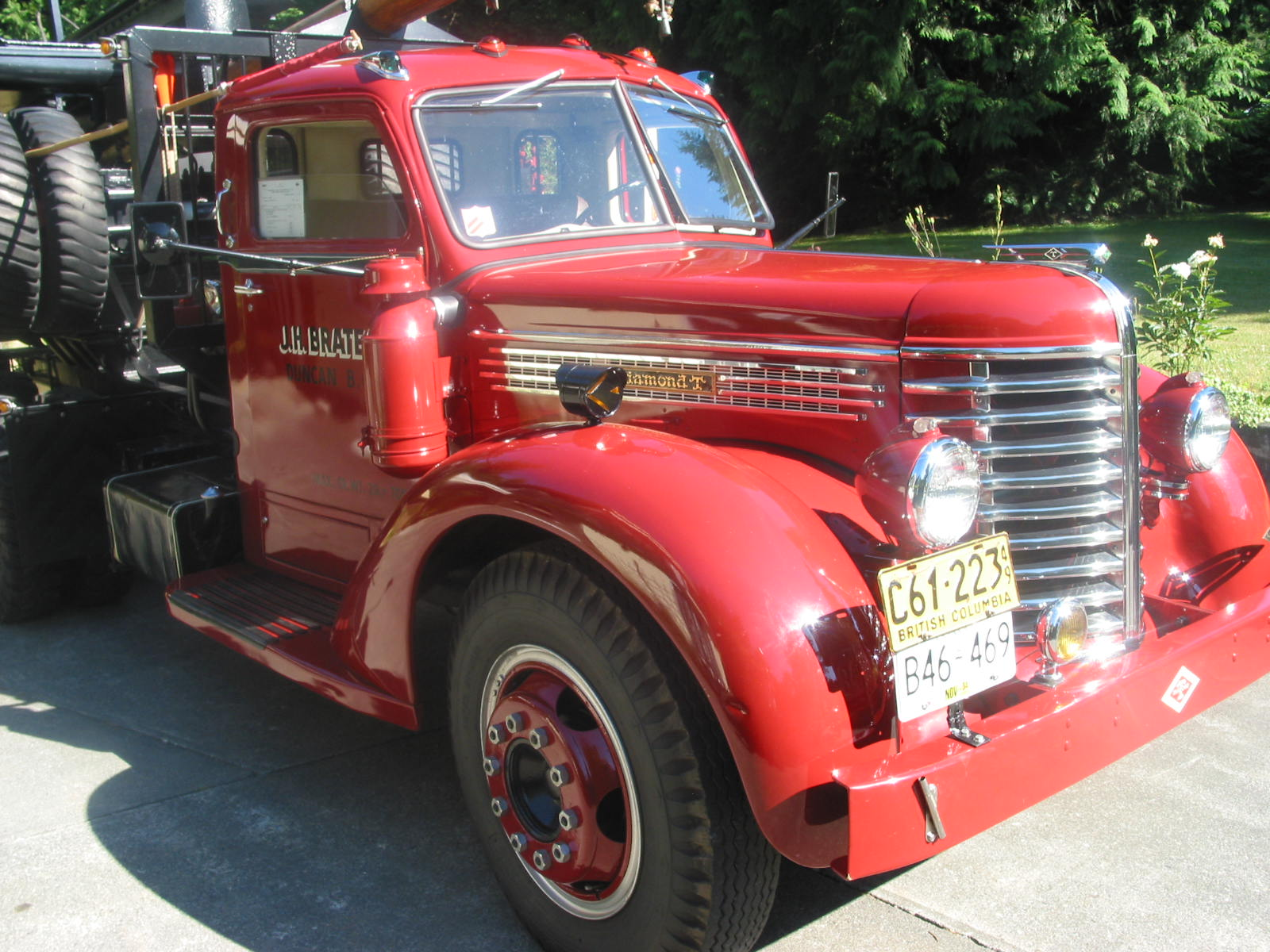 Bc forest discovery centre upcoming antique truck and c v for Hayes motor company trucks