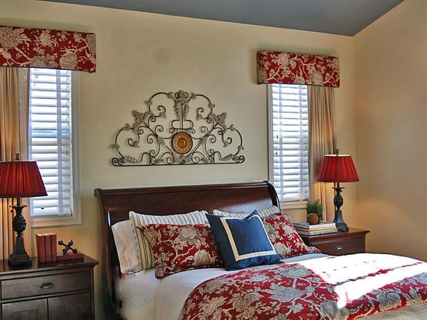 Easy Style And Cozy Bedroom Interior Designs Livingroom: red and cream bedroom ideas