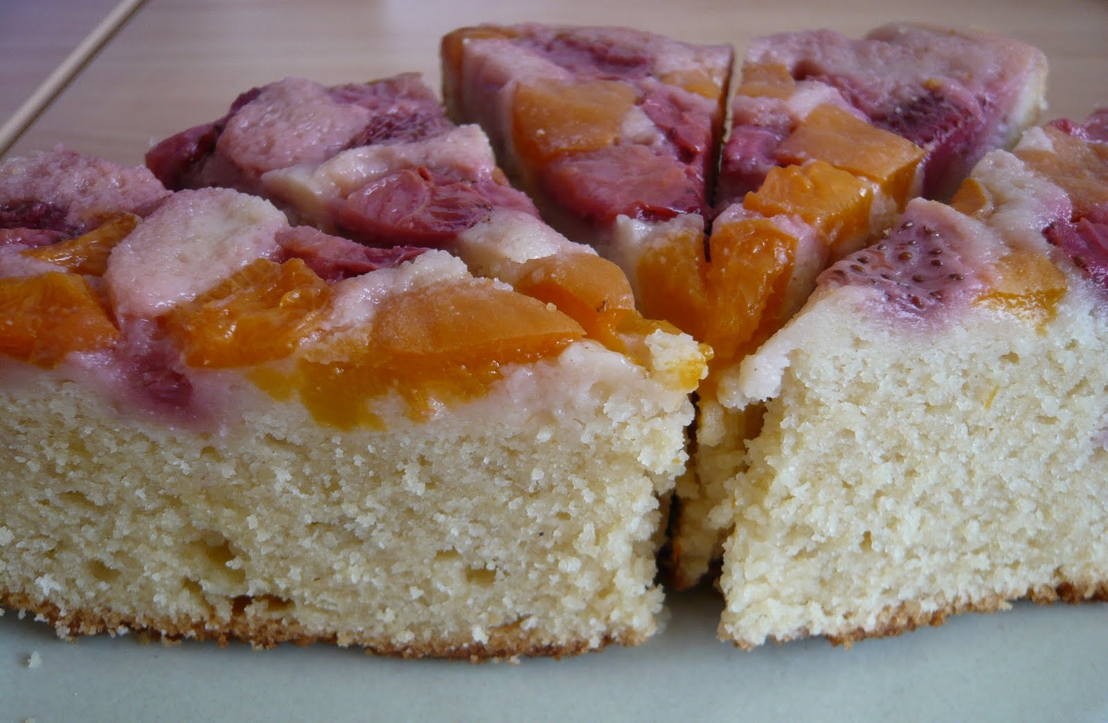 Cake With Fruit Yogurt : Cake, Crumbs and Cooking: Stone fruit yogurt cake revisited